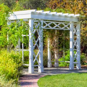 Charmant Wedding Garden Arbor, Outdoor Wedding Decorations